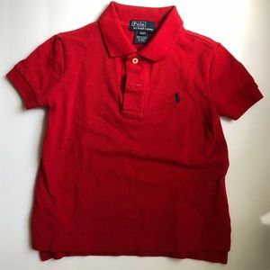 Other - 2T RALPH LAUREN red polo